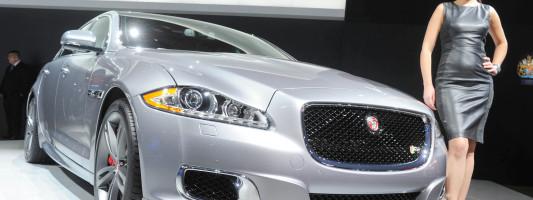 Jaguar XJR R-C auf der New York Auto Show