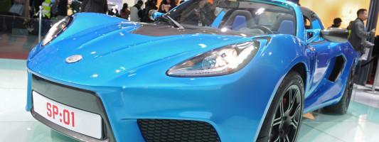 """Lotus Elise als Elektro-Sportwagen von """"Detroit Electric"""""""
