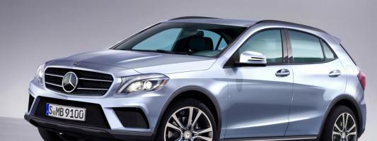 Mercedes GLA: A-Klasse SUV