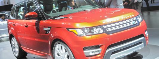 New York Auto Show: neuer Range Rover Sport