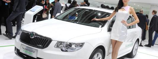 Skoda Superb Facelift auf der Auto Shanghai