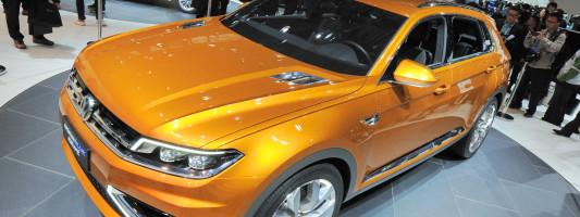 VW CrossBlue Coupé: Weltpremiere