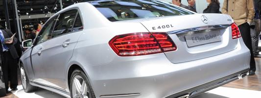 neue Mercedes E-Klasse als Langversion