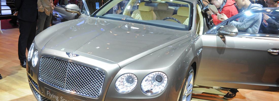 neuer Bentley Continental Flying Spur | Auto Shanghai 2013