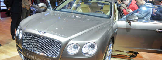 neuer Bentley Continental Flying Spur | Auto Shanghai 2013