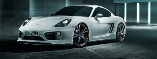 neuer Porsche Cayman (981): Techart Tuning