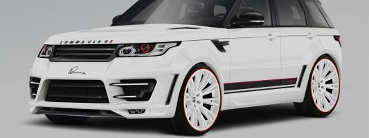 neuer Range Rover Sport: Tuning von Lumma Design