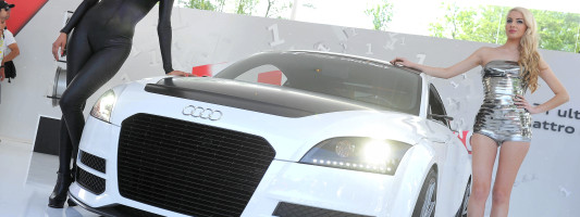 Audi TT ultra quattro concept: Weltpremiere am Wörthersee