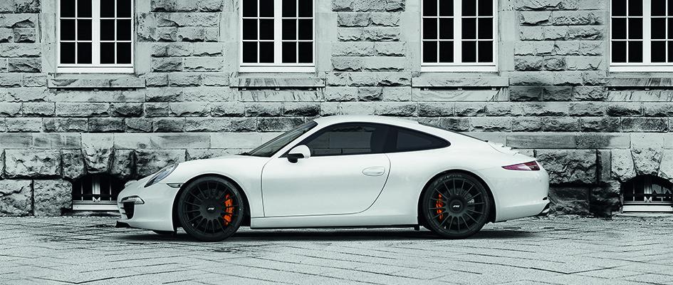 Hightech-Schmiederad für Porsche 911