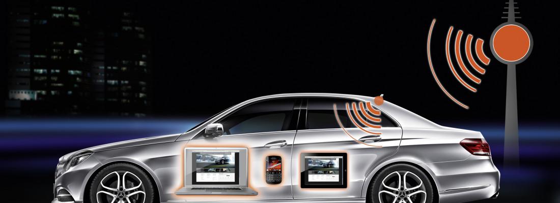 Multimedia-System für Mercedes E-Klasse