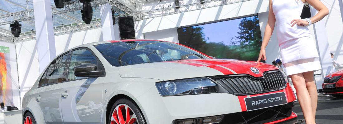 Skoda Rapid Sport Concept beim GTI-Treffen am Wörthersee