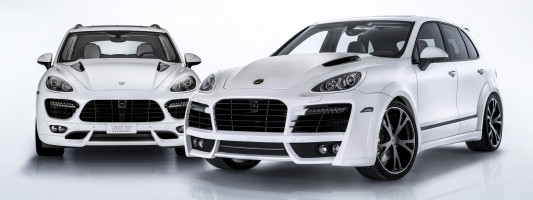 Techart Porsche Cayenne S Diesel Chip-Tuning