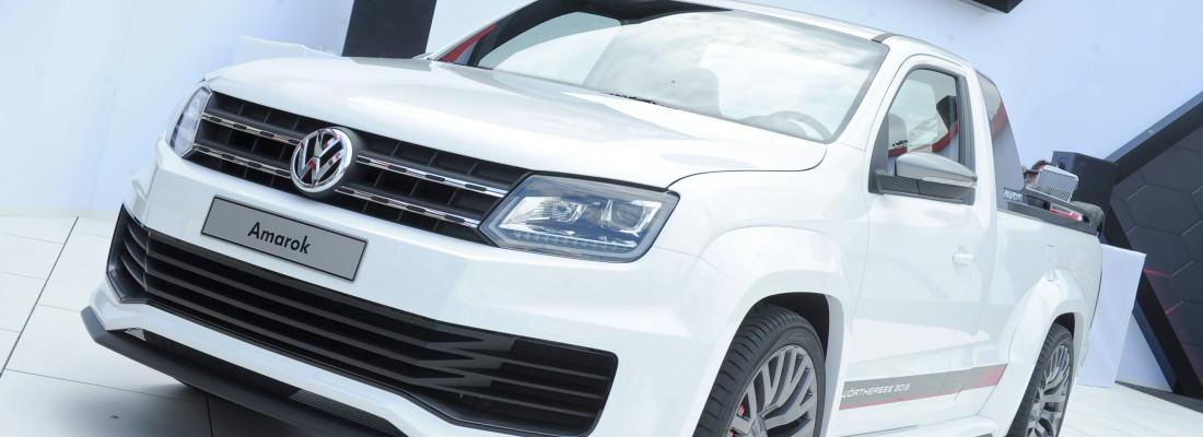 VW Amarok Power-Pickup: Weltpremiere am Wörthersee 2013