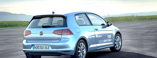 VW Golf TDI BlueMotion ab sofort bestellbar