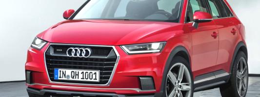 neuer Audi Q1 als Hybrid-Version geplant