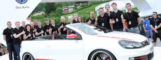 neuer Golf GTI Cabriolet Austria: Weltpremiere am Wörthersee 2013