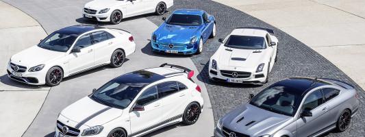 18 neue Modelle von Mercedes-AMG