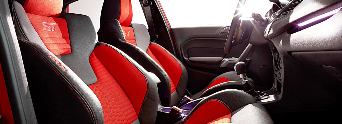 Ford Fiesta ST mit Recaro Sportsitzen