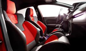 Ein Fest fŸr Fiesta ST-Fahrer: maximaler Fahrspa§ mit serienmŠ§igen Recaro Sportsitzen