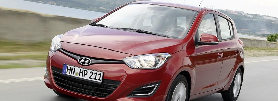 Hyundai i20 blue 1.1 CRDi: das sparsamste Modell von Hyundai