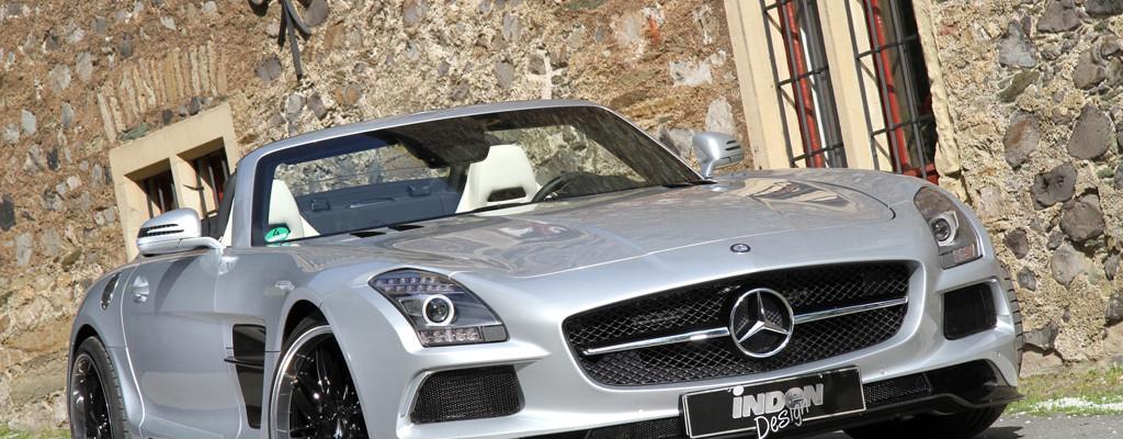 """Inden Design Mercedes SLS AMG Roadster """"Borrasca"""""""