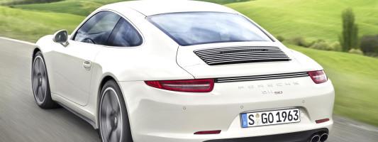 Porsche 911 Carrera S Jubiläums-Sondermodell