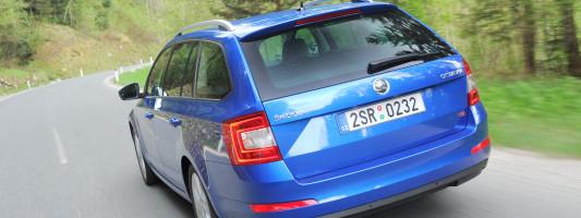 Skoda Octavia Combi: der wertstabilste Kompaktkombi in Europa