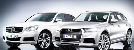 neue SUV von Mercedes und Audi