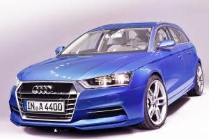 Audi A4 Avant und Sedan Illustration