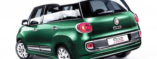 neuer Fiat 500L Living
