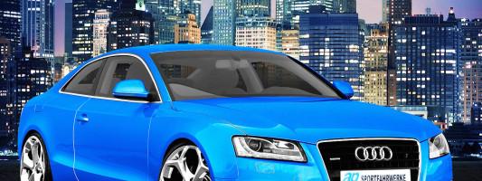 Audi A5 Quattro Coupé: neue Tieferlegungsfedern