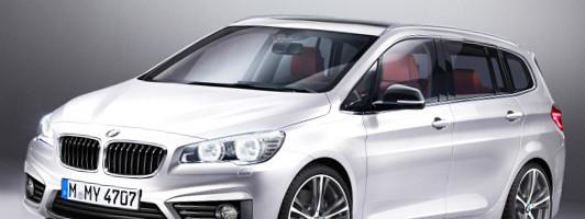 BMW Active Tourer und Family Tourer: neue Vans bald auf dem Markt