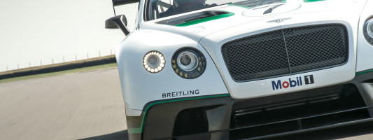 Bentley Continental GT3: Weltpremiere auf dem Goodwood Festival of Speed