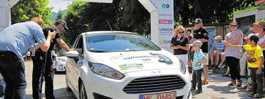 Fiesta E-Wheel Drive bei Silvretta-Rallye