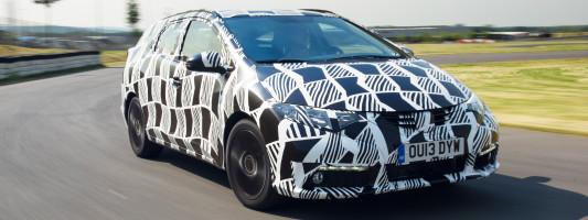Honda Civic Tourer mit neuem adaptivem Dämpfersystem
