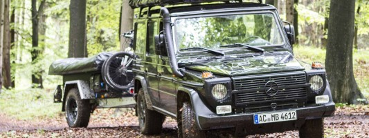 """Mercedes G 300 Professional: ab sofort mit """"TopDog"""" gemietet"""