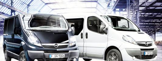 Opel Vivaro: neue Ausstattungspakete