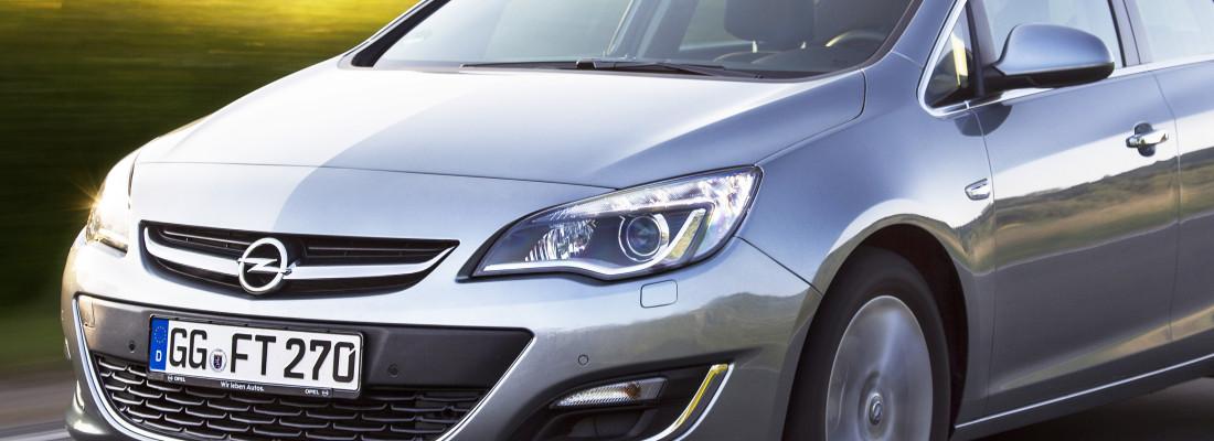 Opel Astra, Zafira Tourer & Cascada: neue 1,6-Liter-Turbo-Triebwerke