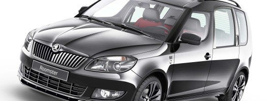 Skoda Roomster als Sonderedition Noire