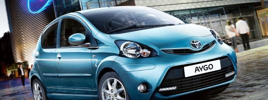 Toyota Aygo: jetzt mit VSC-Sicherheitsausstattung