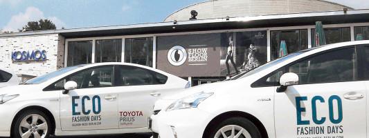 Toyota Prius und Prius+ bei den Eco Fashion Days in Berlin