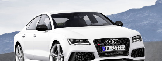 neuer Audi RS 7 Sportback