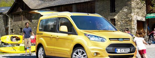 neuer Ford Tourneo Connect: ab Frühjahr 2014 erhältlich