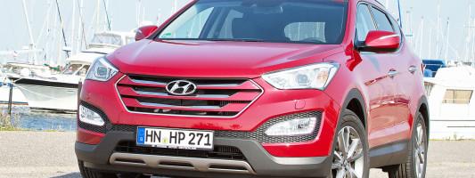 neuer Hyundai Santa Fe 2.0 CRDi