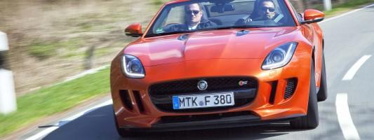 neuer Jaguar F-Type