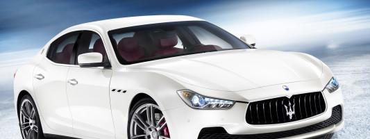 neuer Maserati Ghibli auf der Modemesse in Düsseldorf