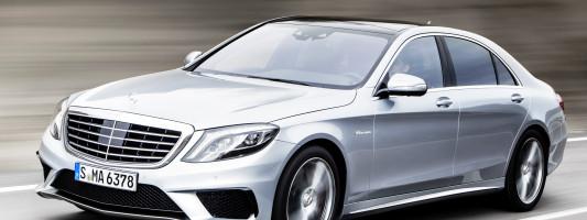 neuer Mercedes-Benz S 63 AMG