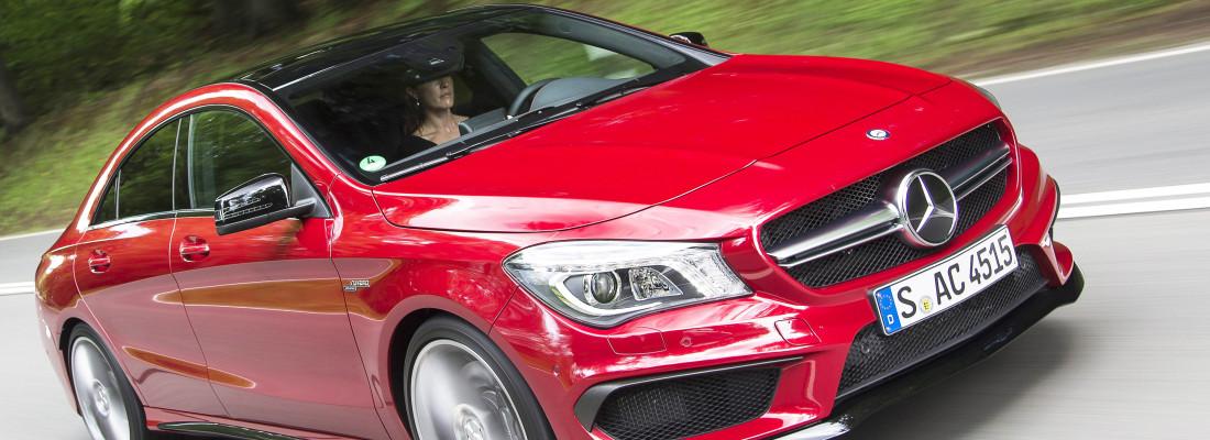 neuer Mercedes CLA 45 AMG Edition 1