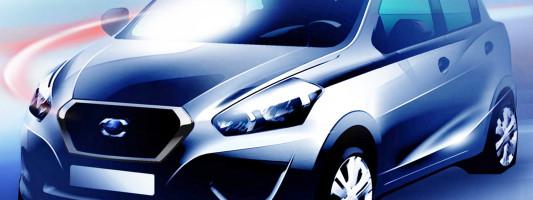neuer Nissan Datsun: Weltpremiere auf der AutoShow in Neu Delhi