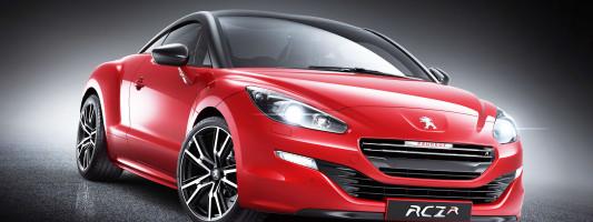 neuer Peugeot RCZ R